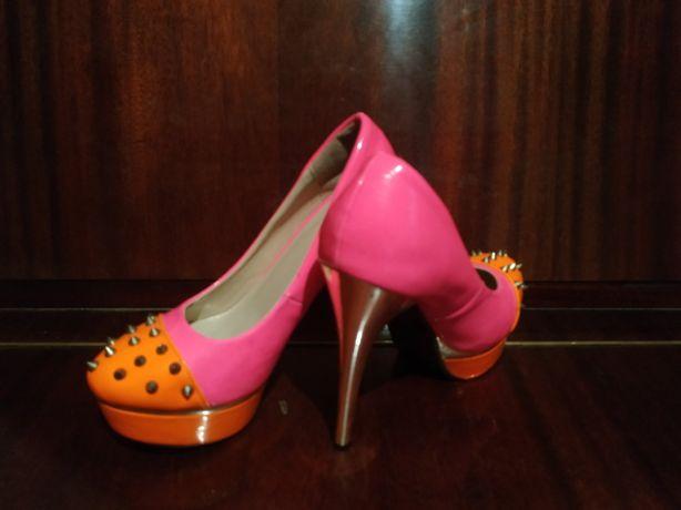 Лабутены/туфли на платформе в отличном состоянии, 36 размер