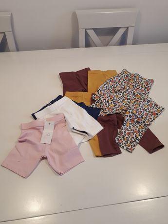 Spodnie legginsy dla bliźniaczek FF 3-9