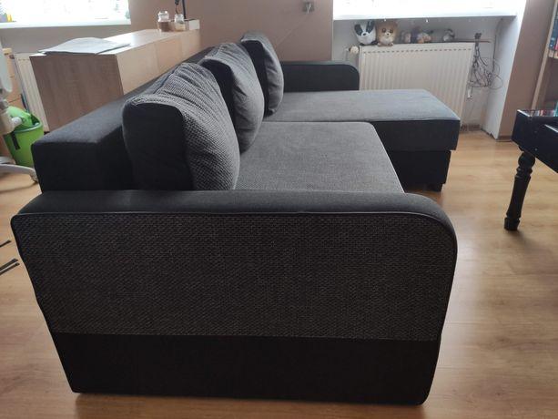 Narożnik sofa z funkcją spania