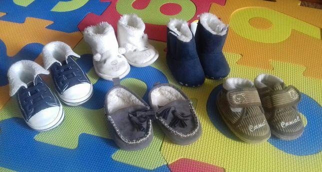 Обувь до 6-7мес зимние с мехом  топики уггики