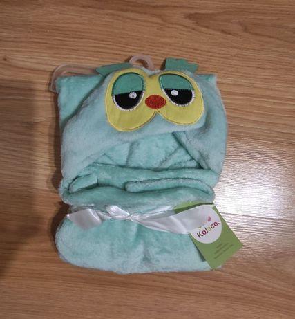 Полотенце детское с уголком капишоном