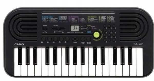 Keyboard Casio SA-47, DO NAUKI GRY DLA Dzieci