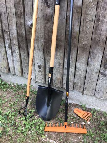 Pack Fiskars alfaias/ferramentas cultivo