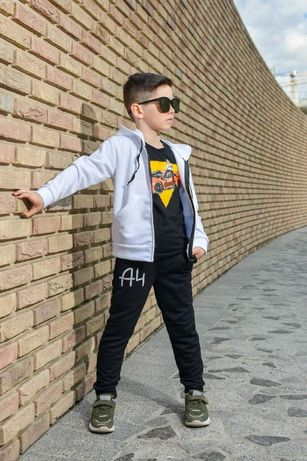 Спортивний спортивный костюм для мальчика, штаны,футболка,толстовка