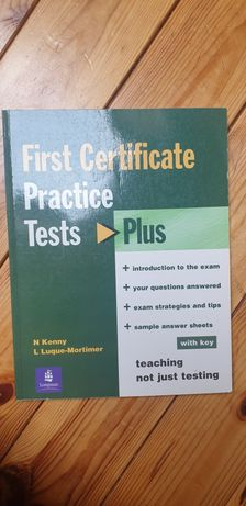 First Certificate Practice Tests Plus with key