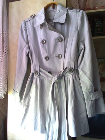 Плащ-тренч-пальто (весенний/осенний) 2 вида ^12 (на девочку-подростка)