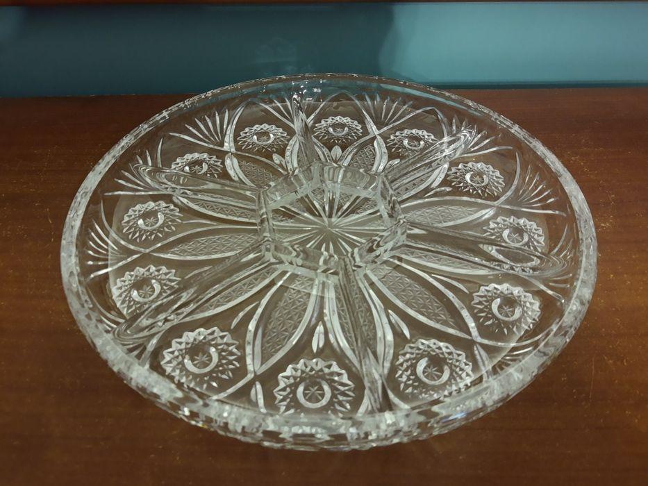 Patera talerz na przekąski kryształ Imielin - image 1