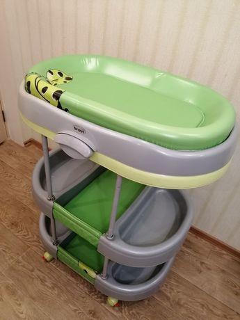 Ванночка-пеленатор Brevi пеленальный столик подставка для ванночки