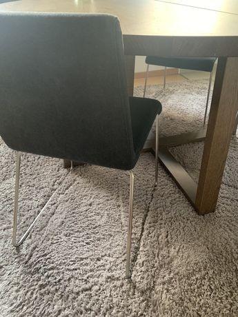 Nowoczesne krzeslo tapicerowane