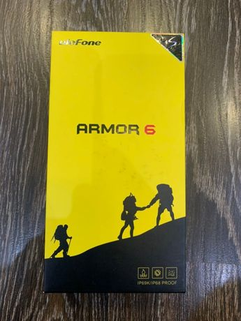 Захищений Смартфон Ulefone Armor 6 6/128GB Red (як новий)