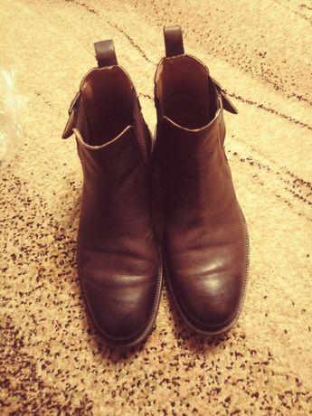 Buty półbuty buty jesienne oficerki roz rozmiar 42