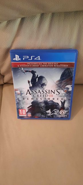 assassins creed 3 remastered ps4 ps5 pl