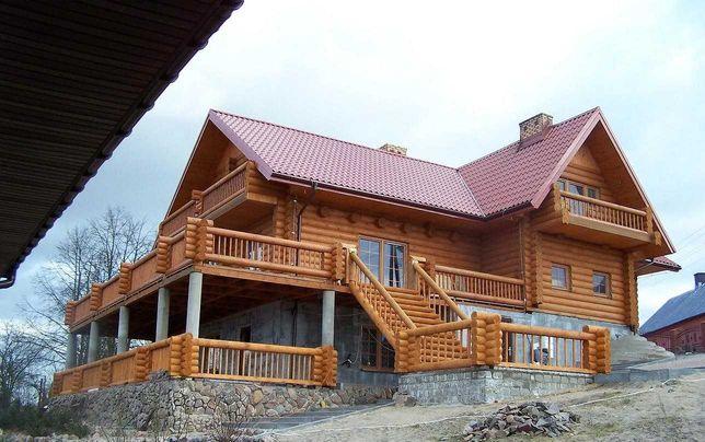 Dom z bali, dom drewniany domek letniskowy, altany.Producent!