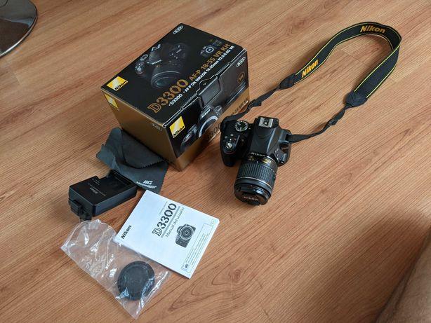 Nikon D3300 KIT AF-P 18-55 VR Kit + Bolsa (Como Novo)