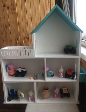 Домик для кукол (деревянный)