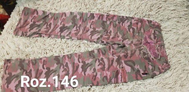 Spodnie moro r.146