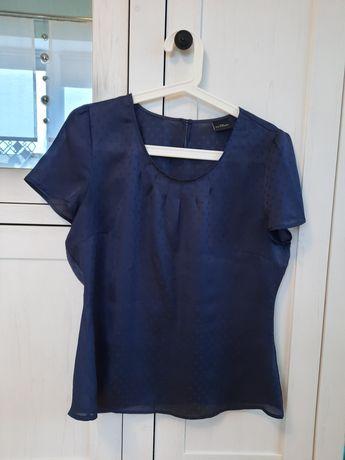 Bluzka damska bluzeczka sixth sense 40 granatowa