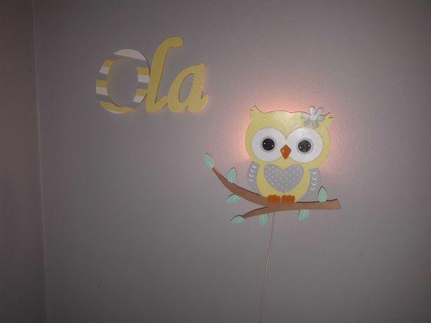 Dekoracja lampka