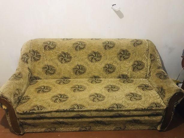 Диван, двухспальная кровать, кресло