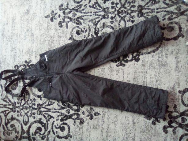 Штани лижні чорні