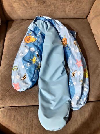 Rogal wałek poduszka dla wcześniaka 100 cm