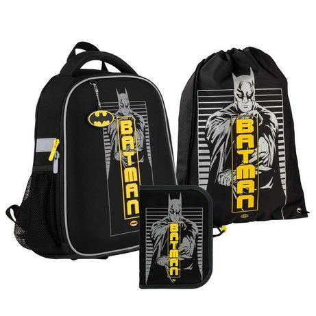 Школьный набор рюкзак + пенал + сумка Kite DC comics DC21-555S
