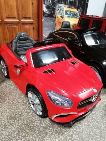 Samochód Mercedes Sl 63 na akumulator dla dzieci Punkt stacjonarny
