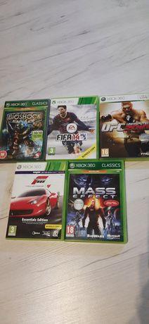 Paczka 5 Gier na konsole Xbox 360