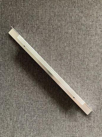 Uchwyty meblowe krawędziowe aluminiowe szczotkowane Ikea 8 szt.