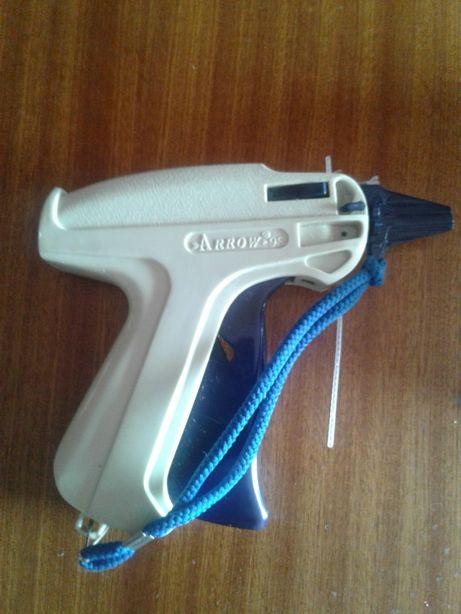 Pistola de etiquetar sem agulha + pinos