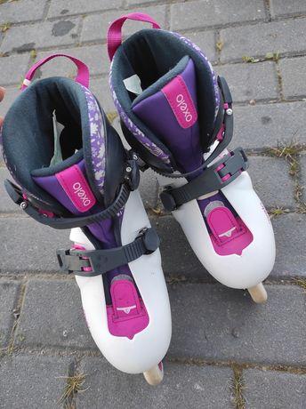 Rolki oxelo dziewczęce 34 Decathlon