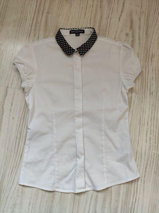 Koszula bluzka biała Reporter young 140 Pasym - image 1