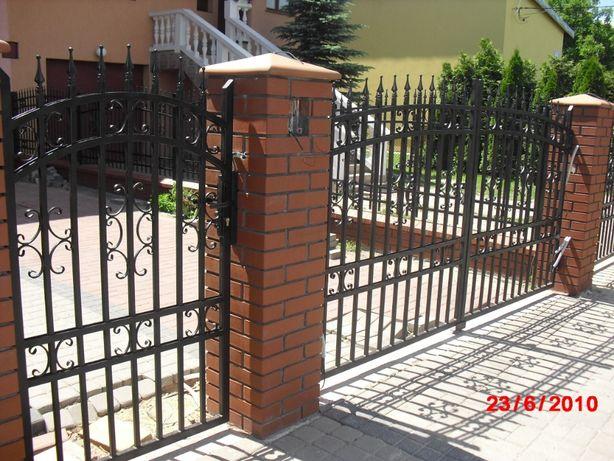Brama kuta BR-150 MONTAŻ GRATIS ogrodzenie płot nowoczesna mazowieckie