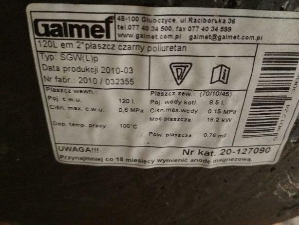Galmet Wymiennik dwuplaszczowy 120L SGW(L)P