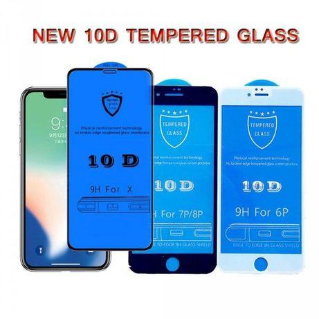 Защитное стекло 9D 10D iphone 6 7 8 + plus X S XR 11 12 mini pro MAX