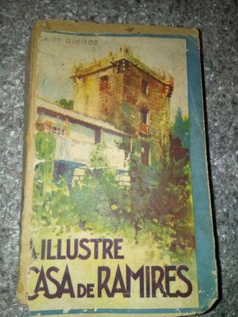Livro antigo eca queiroz-ilustre casa de ramires