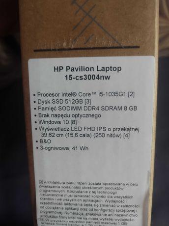 Laptop HP Pavilion 15-cs3004nw
