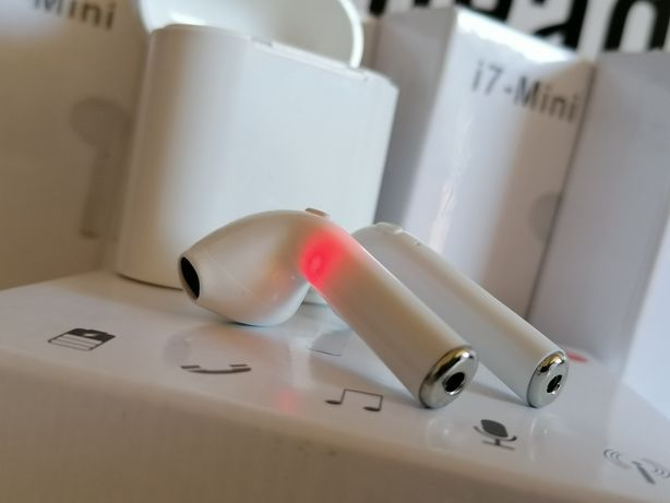 i7 - MINI tws słuchawki bezprzewodowe bluetooth z powerbankiem airpods