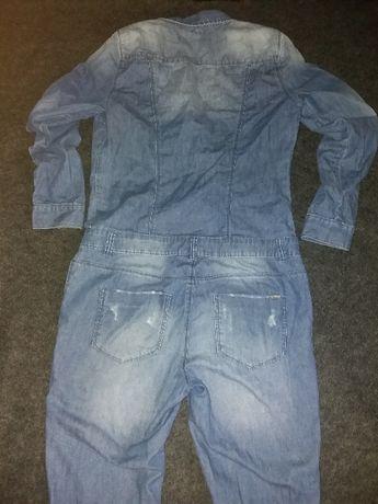 джинсевый крутой комбинезон