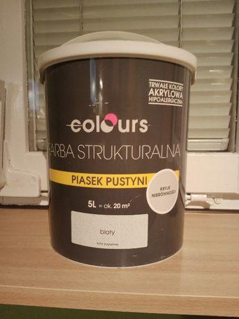 Farba strukturalna Colours Piasek pustyni 5 l