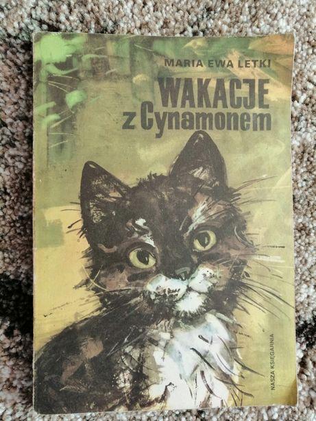 Wakacje z cynamonem Maria Ewa Letki