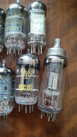 Lampa elektronowa ecc83 zestaw