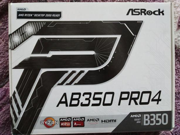 Материнская плата AsRock AB350 Pro4 AM4