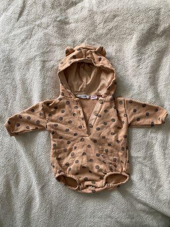 Zara 62 bluza z body i sweterki