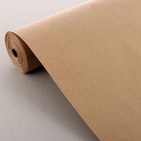 Крафт бумага упаковочная Крафт папiр пакувальний 38гр/м2 84см х 50м.