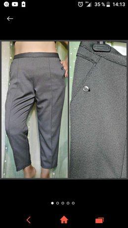 Удобная модель брюк на резинке на невысокий рост