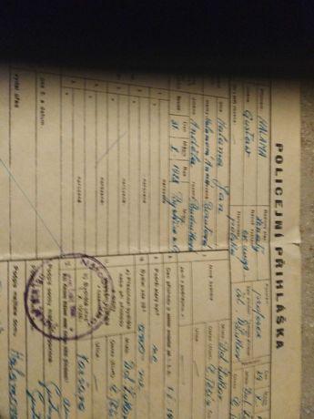 Porządki domowe stary dokument