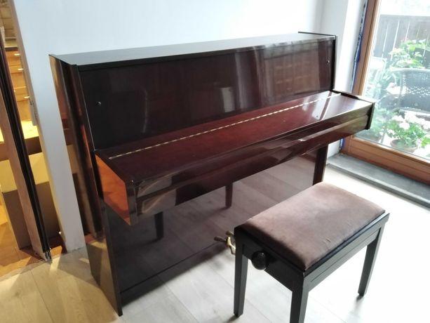Pianino Kawai używane, regulowane krzesło gratis