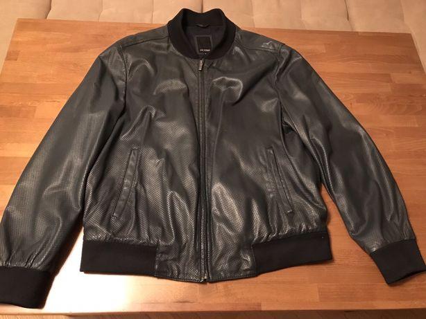 Продам шкіряну куртку бомбер Roy Robson