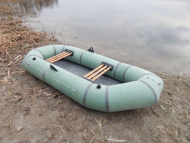 Надувная резиновая лодка Лисичанка 2-местная. Новая. Цена с доставкой